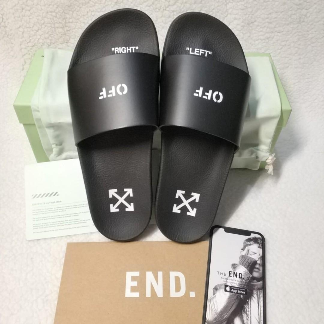 Off-White Offwhite Stamp Slides