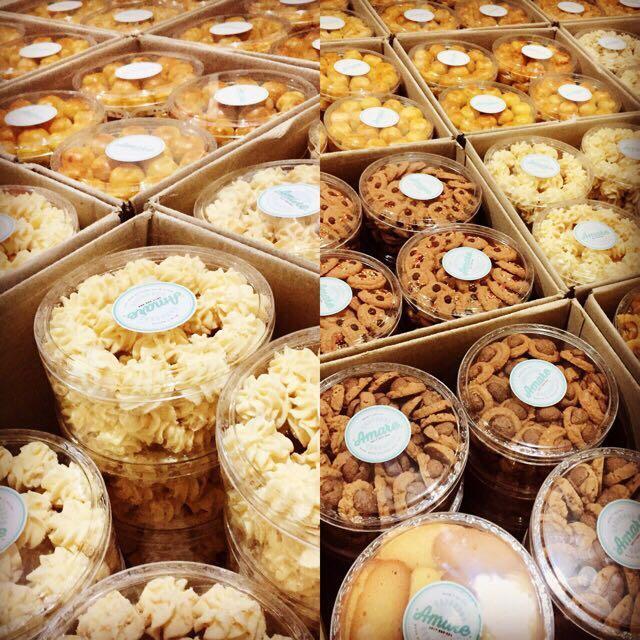 Paket Kue Kering Lebaran Isi 3 Toples Makanan Minuman Snek Di Carousell