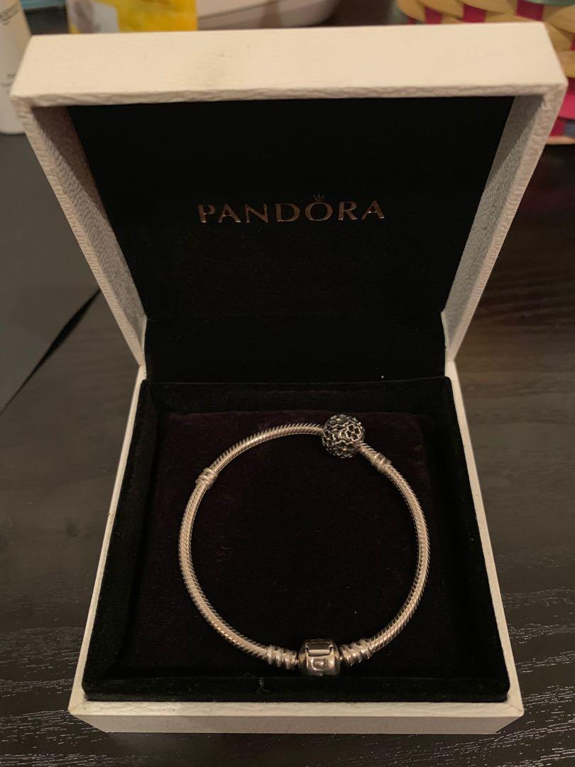 Pandora Band with Silver Charm