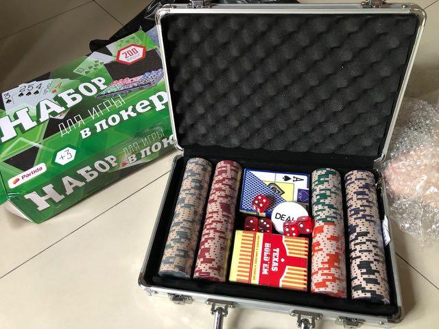 Partida Texas Hold Em Poker Chip Suitcsse