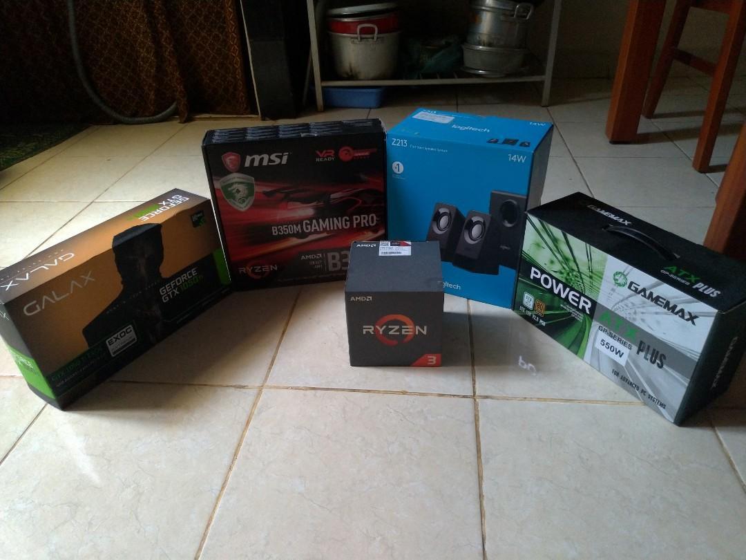 PC GAMING FULL SET
