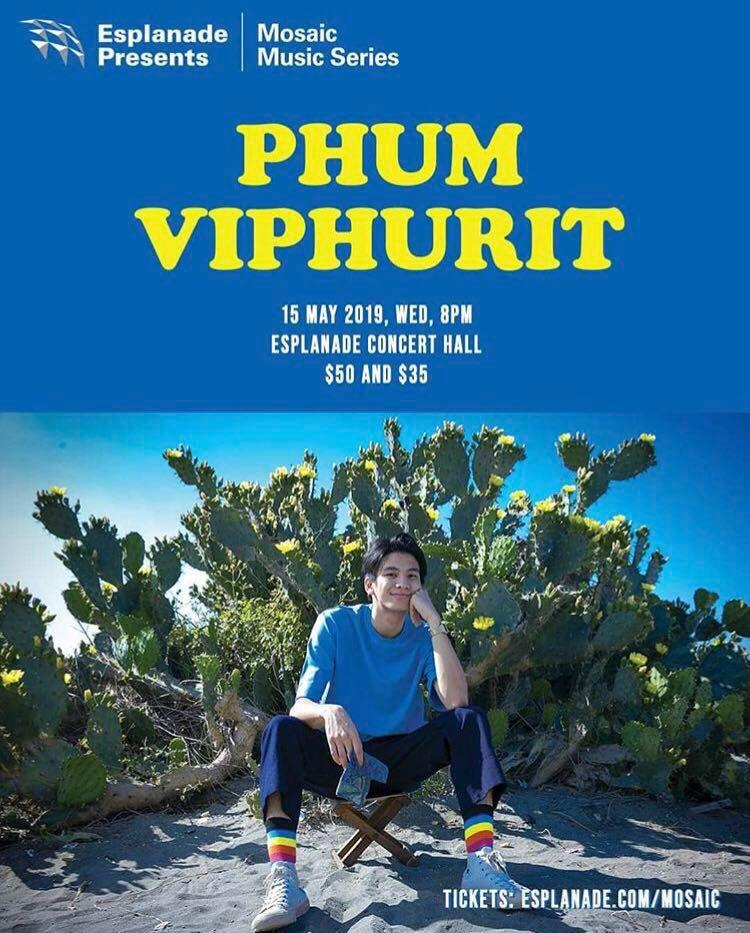 Phum Viphurit Cat 2 Ticket