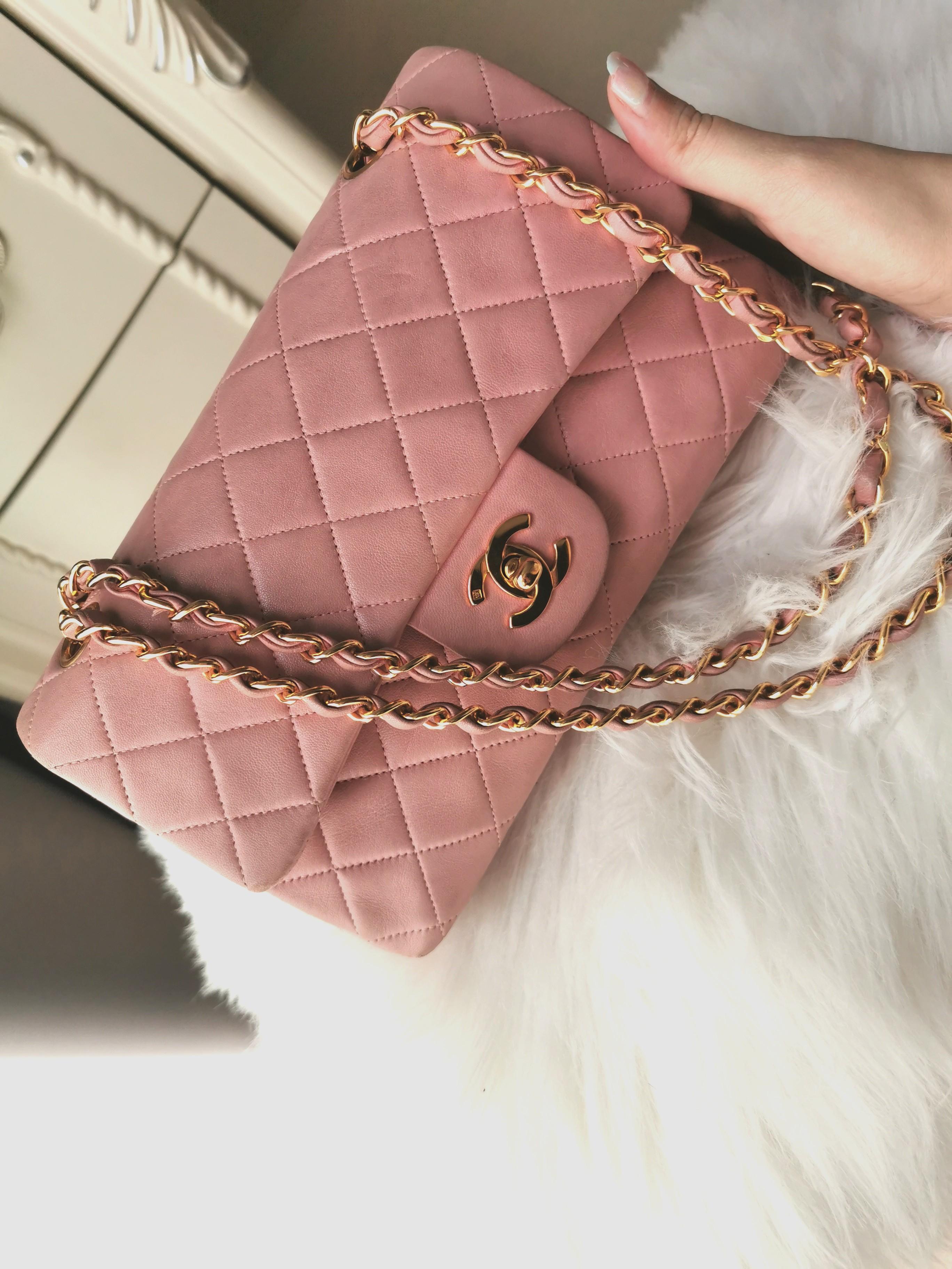 Pink Chanel Bag Luxury Bags