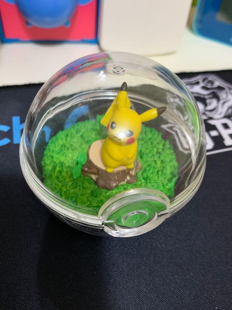 Pokémon 精靈球擺設 no.1 Pikachiu