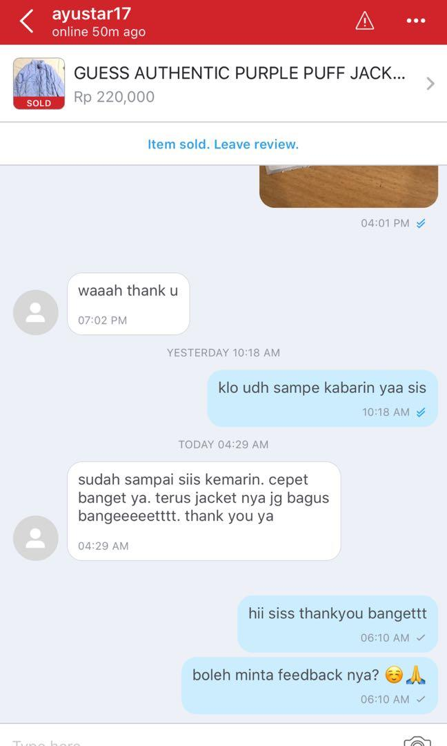 REVIEW SATISFIED CUST 😘🙏🙏