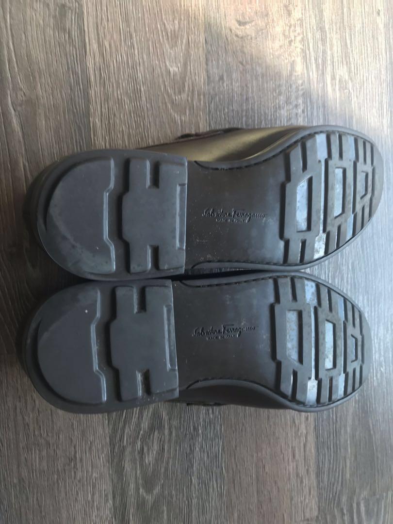 Salvatore Ferragamo Men's men shoe size 44 dark brown