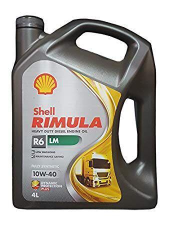 Shell Rimula 金牌R6 LM 機油