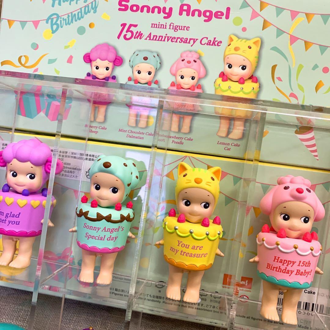 Sonny Angel 15周年蛋糕系列