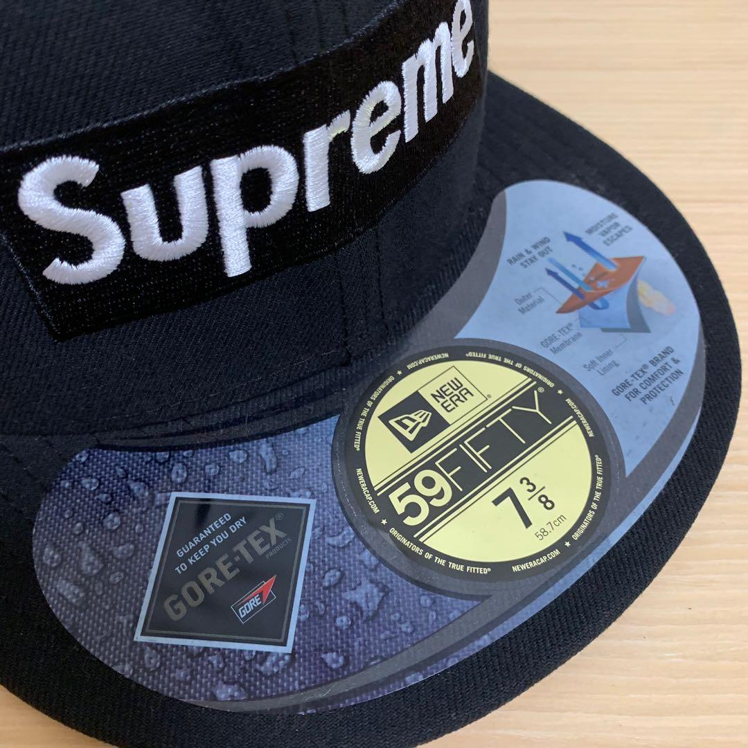 Supreme 6 Panel Cap (Gore-tex / Black / New Era)