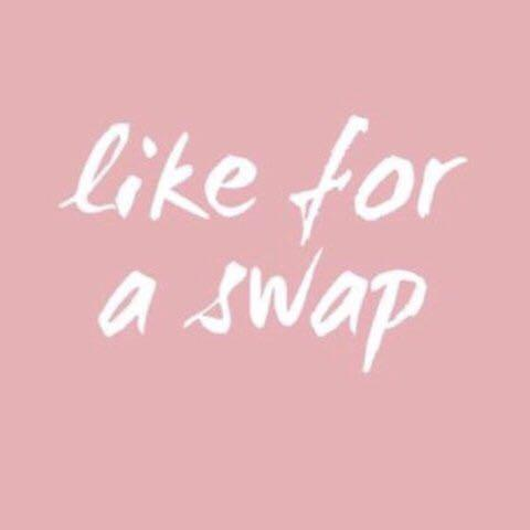 #swapau like this if you're interested in any items & i'll check out your page 😊