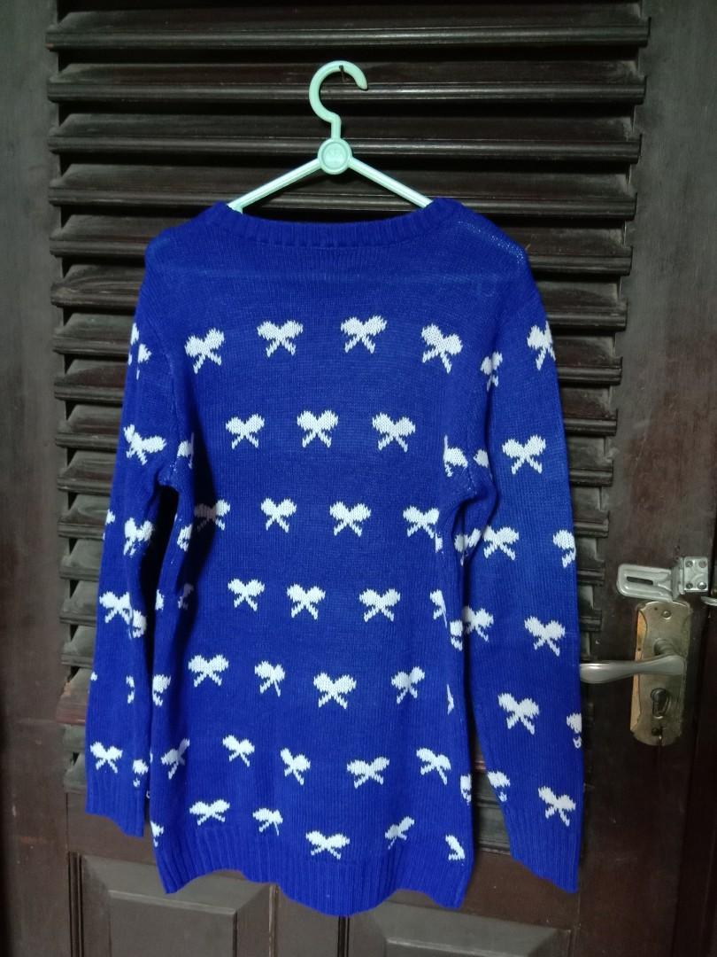 sweater pita rajut