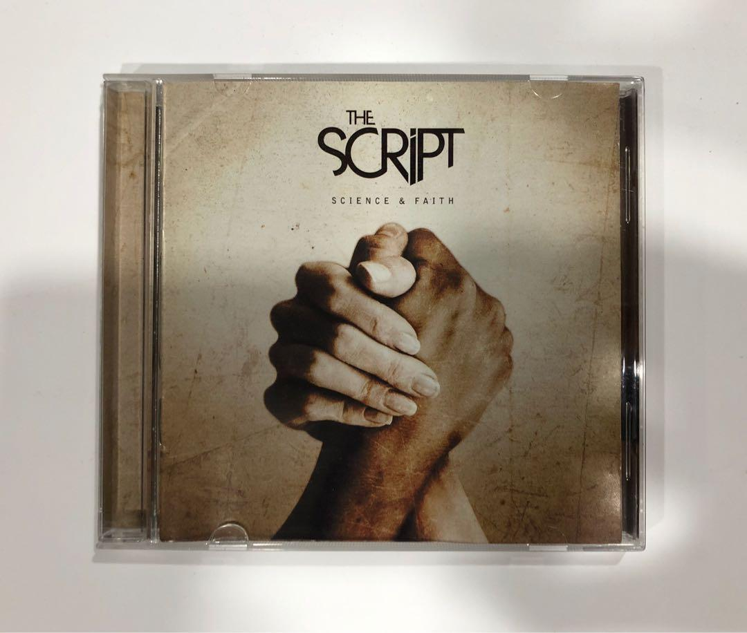 The Script Science Faith Music Cd Album Music Media Cds Dvds Other Media On Carousell