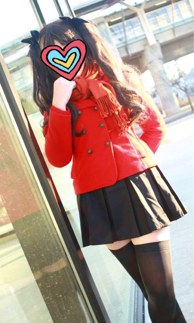 Tohsaka Rin Cosplay 遠坂凜 cos Fate Stay night unlimited blade works