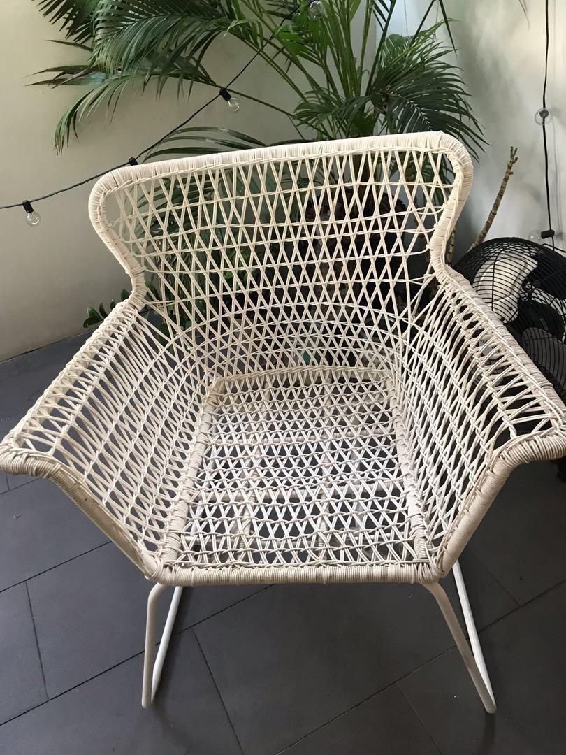 Two Högsten IKEA Armchair