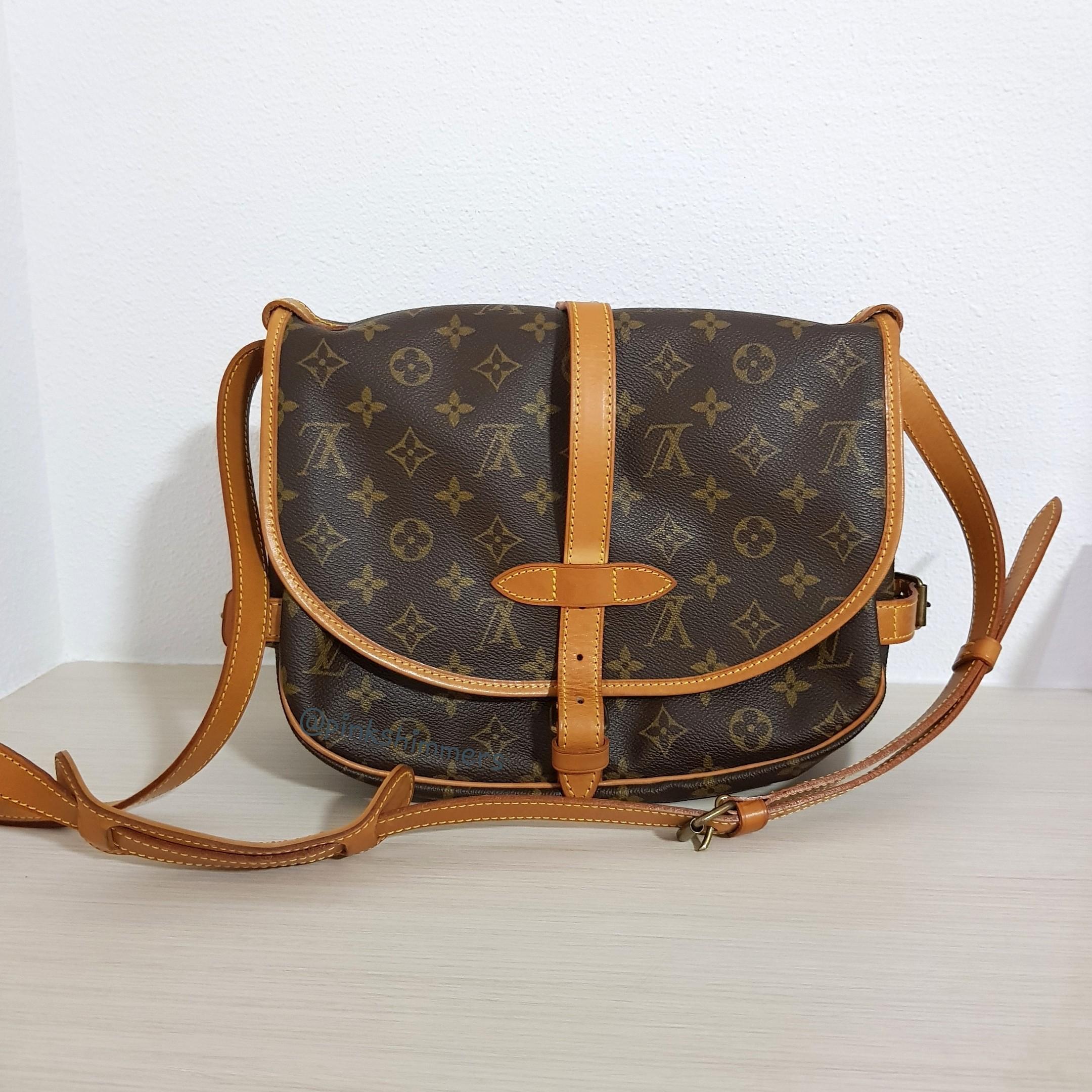 800562ab72671 Vintage Louis Vuitton Saumur 30 Crossbody Shoulder Bag, Luxury, Bags ...