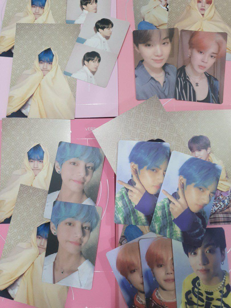 WTS BTS Persona Photcards / Postcards / Sealed / Unsealed with poster