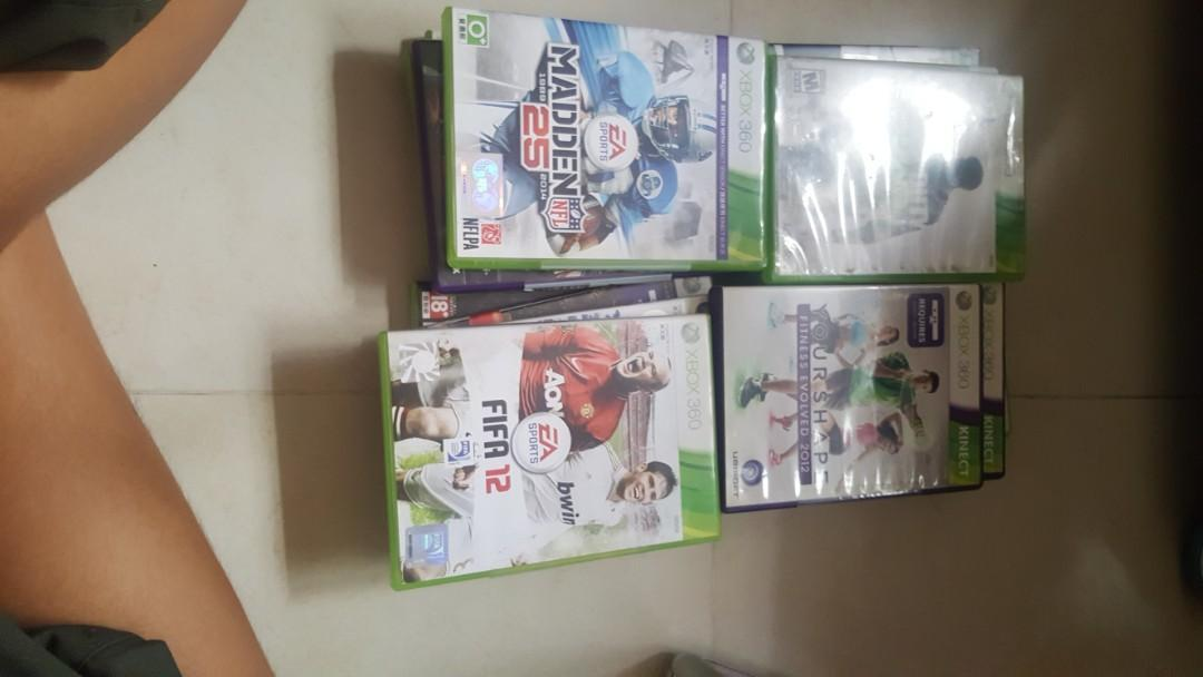 Xbox 360 Games (check description for sold items)