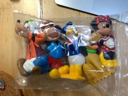 Mickey & Friends 膠擺設 Donald Duck, Goofy, Pluto