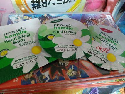 Kamille hand cream 3 packs
