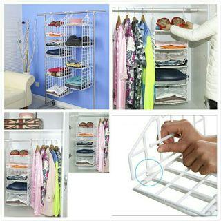 ♛Ready Stock♛ Closet Hanging Shelf / Clothing Hanger / Clothes Hangers