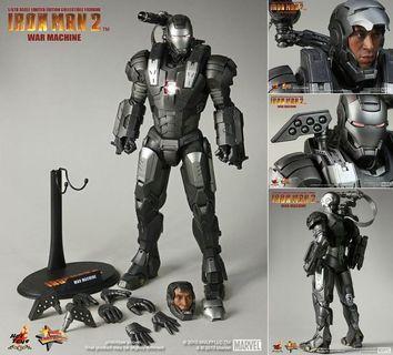 Hot Toys Iron Man 2 War Machine MMS120 Don Cheadle Not Predator Alien Marvel Avengers Endgame