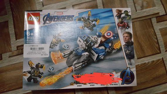 Lego endgame captain america bike