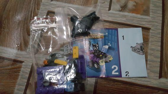 Lego cat women micro set