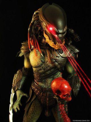 Hot Toys MMS130 Berserker Predator AVP not Alien Avengers marvel endgame