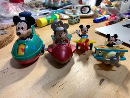 米奇老鼠 Mickey 玩具車 4件