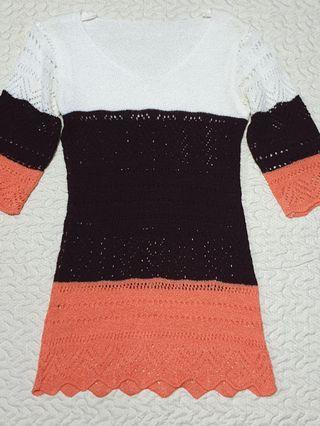 New tri colour knitted top (Urgently selling)
