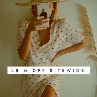 25% OFF SITEWIDE!