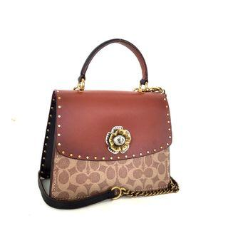 Coach Parker Snake with Top Handle