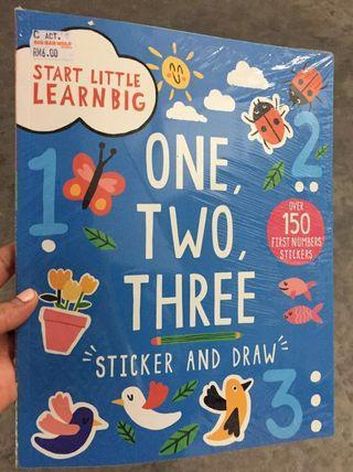 📚1️⃣2️⃣3️⃣ Sticker and Draw Book