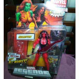 Marvel Legends Red She Hulk