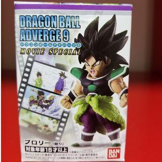 龍珠超 布洛尼 全新行版盒蛋 1隻 Super Broly Dragon Ball Adverge 9 劇場 布羅利