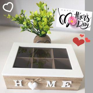 Mother Day Gift Ideas/Wooden Storage Box/Home Decor