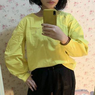 Shirt Kuning - ZARA