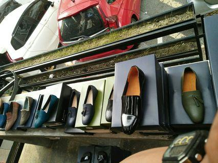Lanbaharin leather shoes