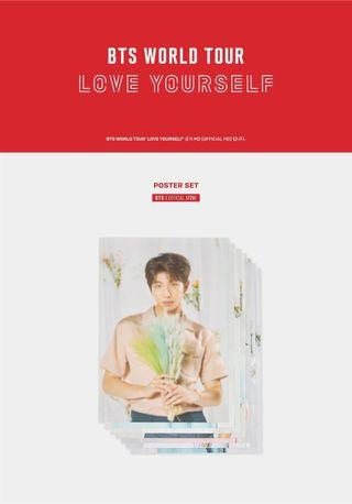[WTS] BTS LOVE YOURSELF TOUR POSTER SET