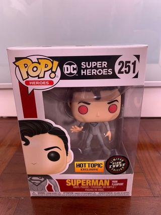 🚚 DC Superman from Flashpoint GITD Chase funko