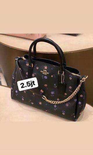 (Ready Stock) coach vintage prare sage carryall