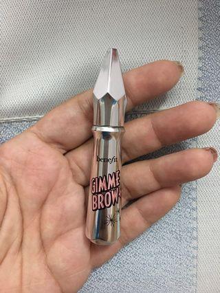 Original Brand New Benefit Gimme Brow + Brow Volumizing Fiber Gel - Shade No. 3