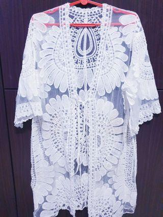 New white lace cover up (Urgently selling)
