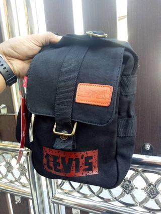 Levis Sling Bag [Black Navy] ORIGINAL💯
