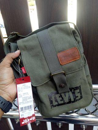 Levis Sling Bag [Green Navy] ORIGINAL💯