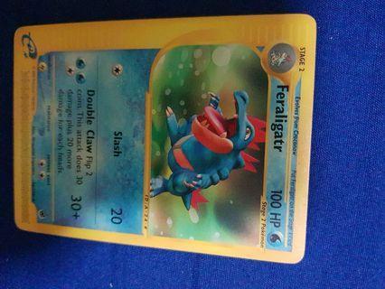 Pokemon Card - Feraligatr