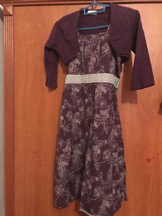 Dress kiko untuk kids