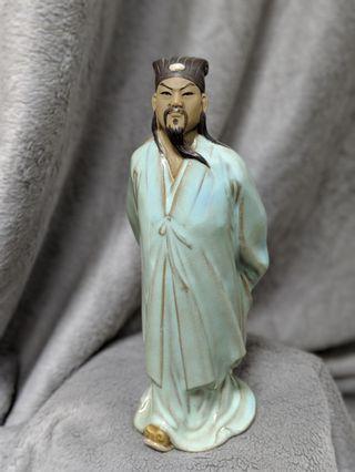 諸葛亮陶瓷像