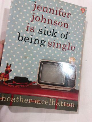 Novel Jennifer Johnson is sick of being single