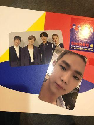 SHINee 團卡和KEY小卡